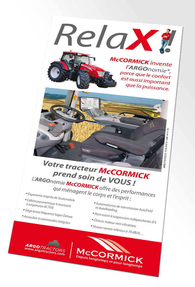 Annonce presse McCormick Relax