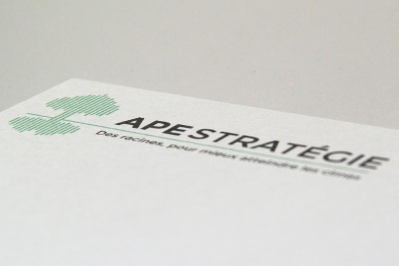 Nouveau logo d'APE STRATÉGIE