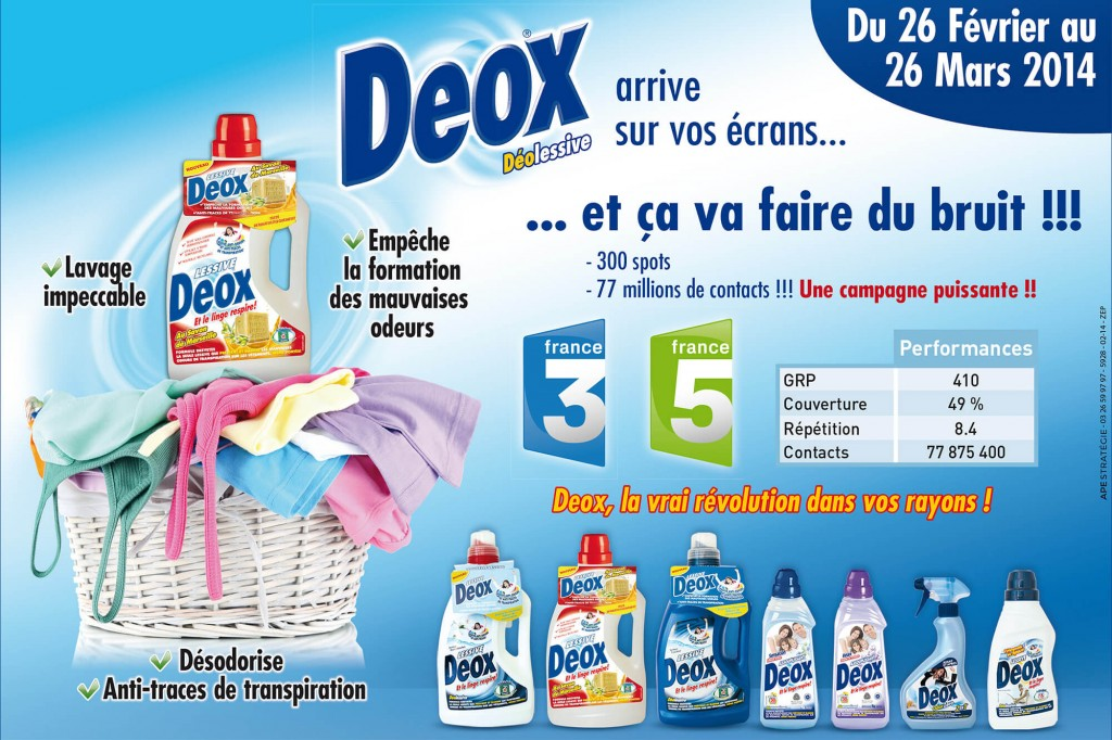 Annonce presse DEOX